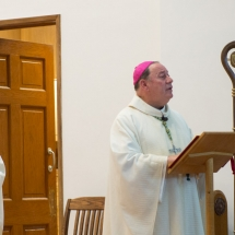 Bishop Colli preaching
